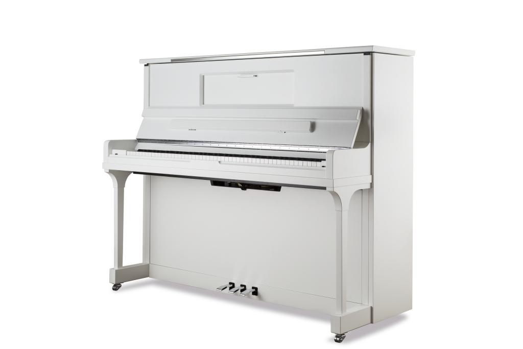 Feurich Klavier Mod. 123 Vienna weiß satiniert