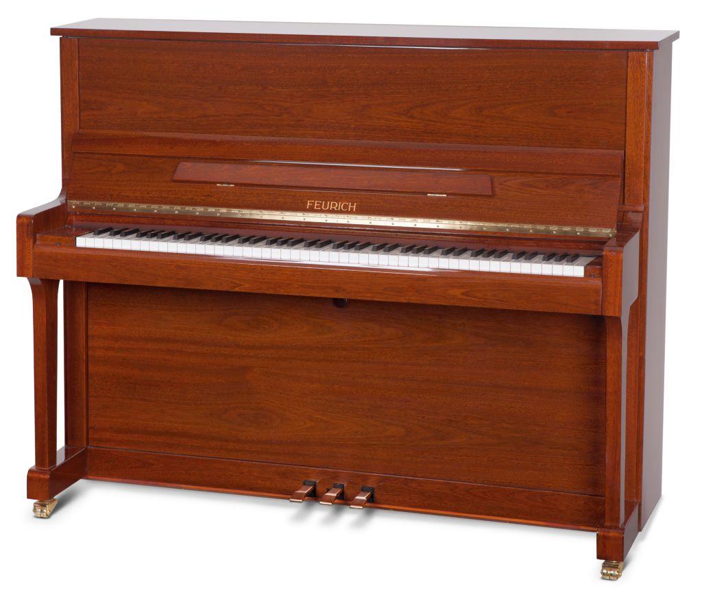Feurich Klavier Mod. 122 Walnuss poliert