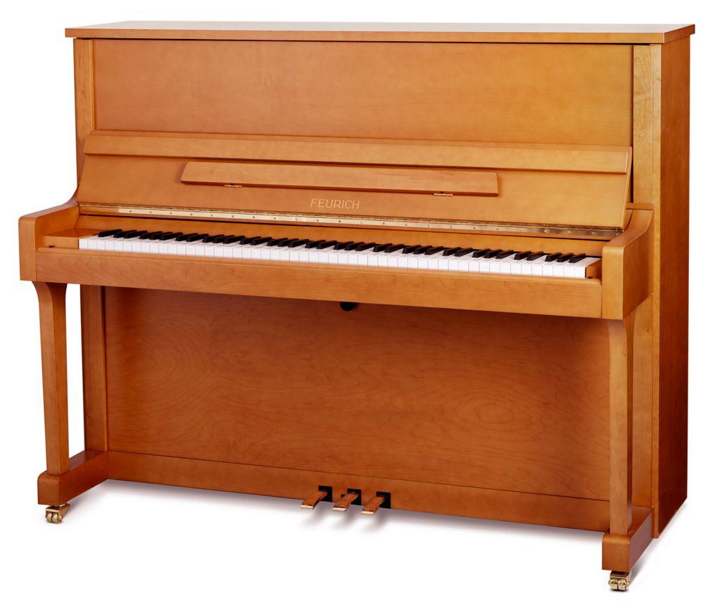 Feurich Klavier Mod. 122 Buche satiniert