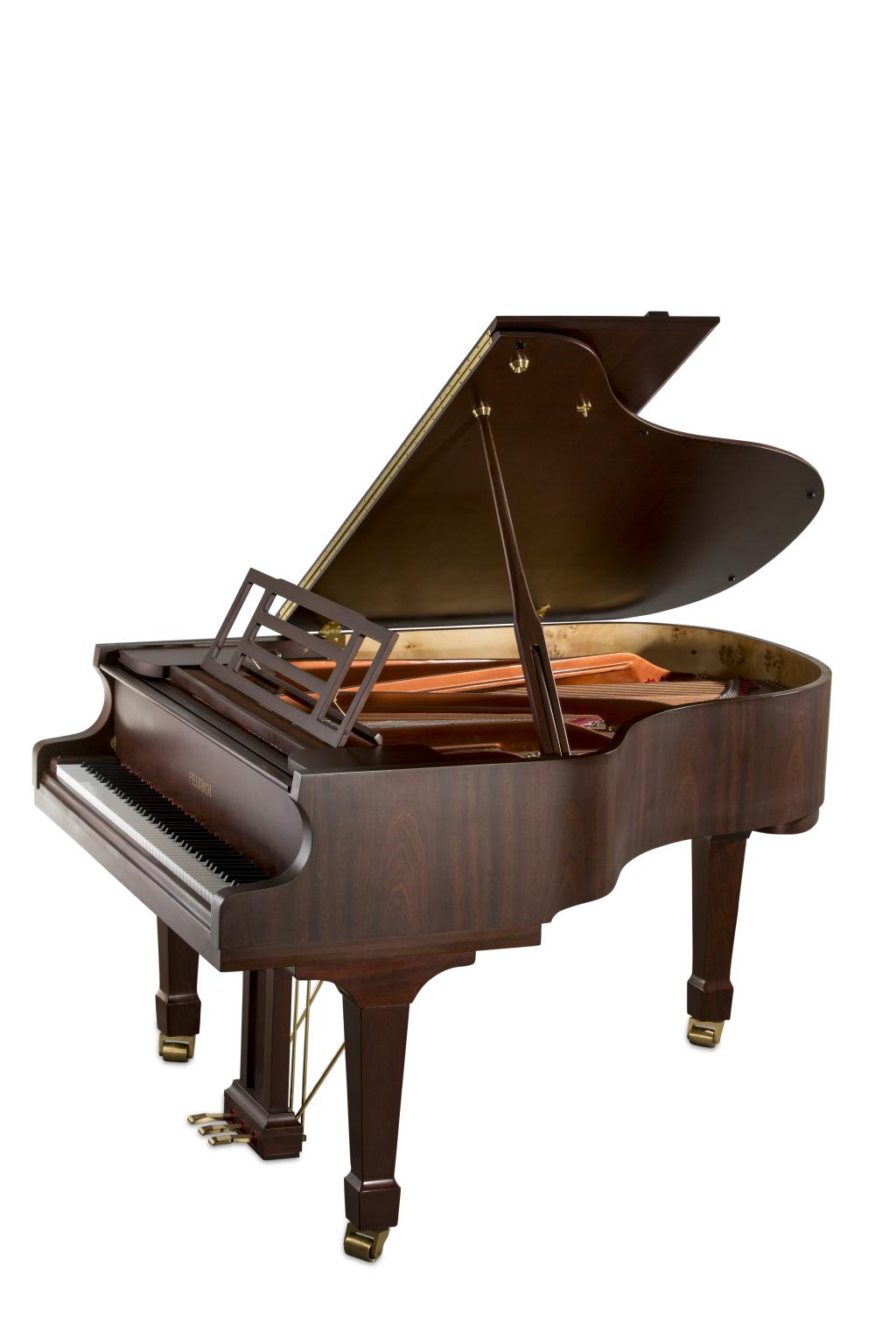 Feurich Klavier Mod. 179 Nuss satiniert